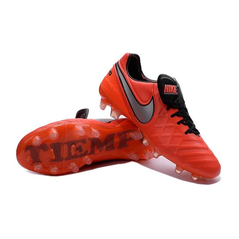 Nike Tiempo Bianche E Arancioni