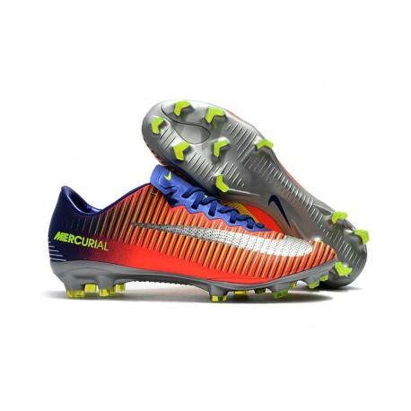 Nike Mercurial Vapor XI FG Scarpe Calcio Uomo - Blu Cromo Cremise