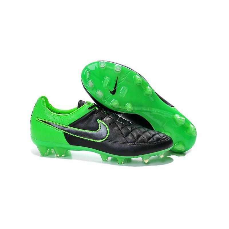 Nike Tiempo Nere E Verdi