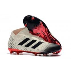 Adidas Scarpe da Calcio Nemeziz 18+ FG - Bianco Nero Rosso