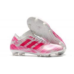 adidas Nemeziz Messi 18.1 FG - Rosa Bianco