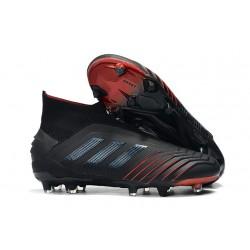 Scarpe da Calcio adidas Archetic Predator 19 + FG - Nero Rosso