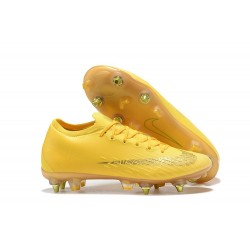 Scarpe da Calcio Nike Mercurial Vapor 12 AC SG-Pro Giallo Oro