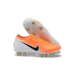 Scarpe da Calcio Nike Mercurial Vapor 12 AC SG-Pro Arancio Bianco