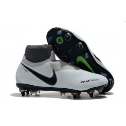 Nike Phantom Vision Elite Dynamic Fit Anti-Clog SG-PRO Grigio Rosso