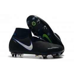 Nike Phantom Vision Elite Dynamic Fit Anti-Clog SG-PRO Nero Blu