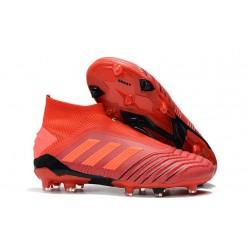 Scarpe da Calcio adidas Predator 19 + FG - Rosso