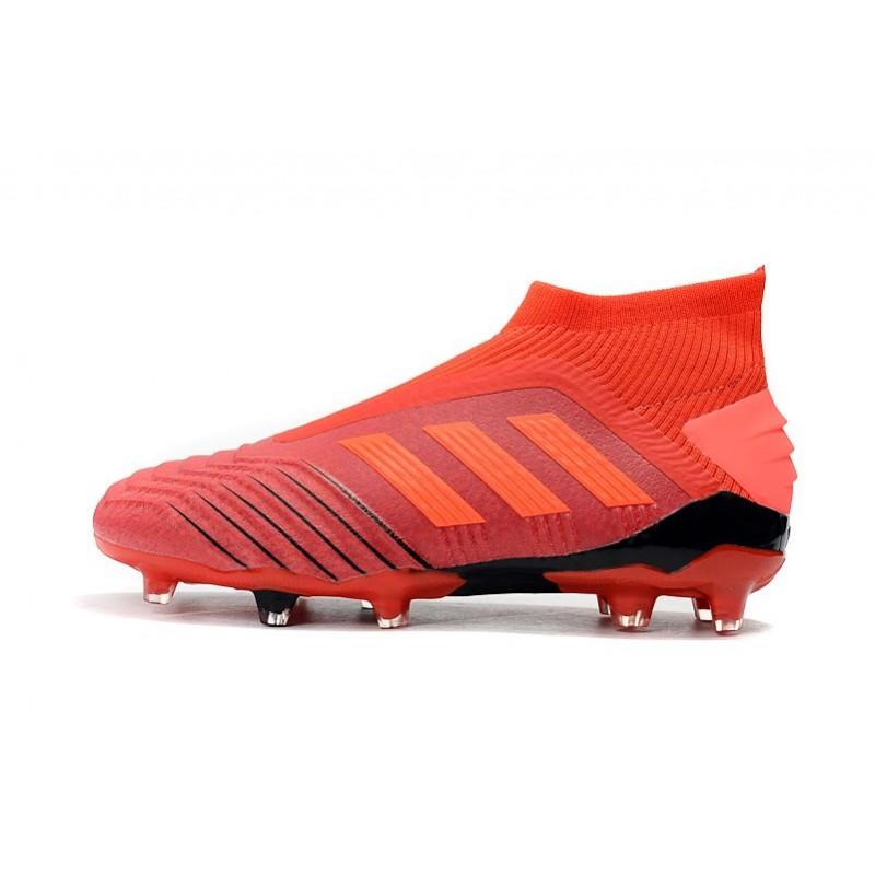 Calcio Adidas Rosso Da Predator 19Fg Scarpe NwvOm8n0