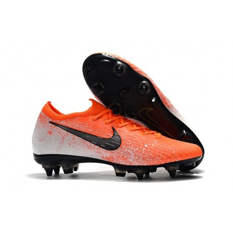 Scarpe da Calcio Nike Mercurial Vapor 12 AC SG-Pro Arancione Nero