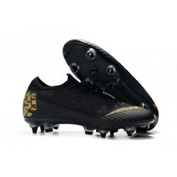 Scarpe da Calcio Nike Mercurial Vapor 12 AC SG-Pro Nero Oro