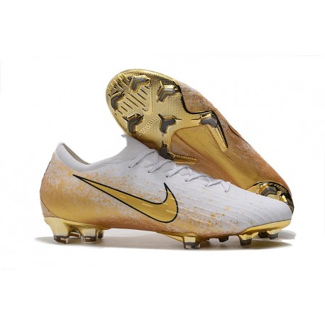 Nike Scarpe Calcio Mercurial Vapor 360 Elite Fg Bianco Oro