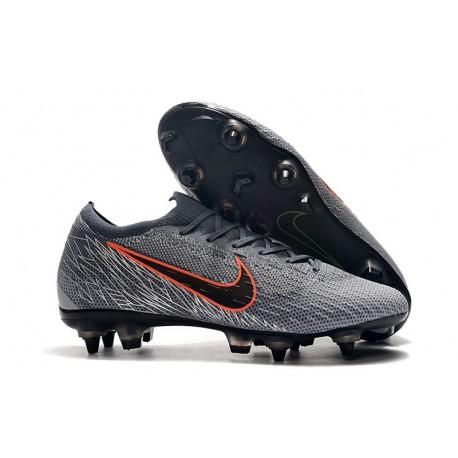 Scarpe da Calcio Nike Mercurial Vapor 12 AC SG-Pro Grigio Nero