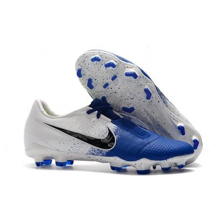 Nike Phantom VNM Elite Terreni Compatti Bianco Blu Nero