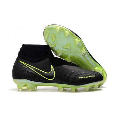 Scarpini Calcio Nike Phantom Vision Elite FG Nero Volt