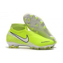 Scarpini Calcio Nike Phantom Vision Elite FG Volt Bianco