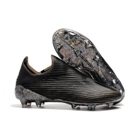 Scarpe da Calcio Adidas X 19+ FG Nero