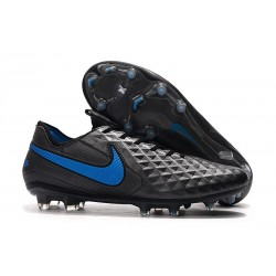 Scarpa Nuovo Nike Tiempo Legend 8 Elite FG Nero Blu