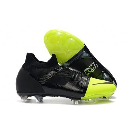 Nuove scarpe da calcio Nike Mercurial Greenspeed 360 FG Nero Verde