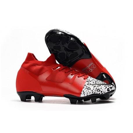 Nuove scarpe da calcio Nike Mercurial Greenspeed 360 FG Rosso Bianco