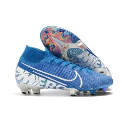 Scarpe Nike Mercurial Superfly VII Elite FG - New Lights Azul