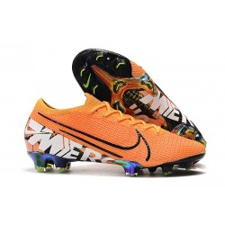 Scarpe da Calcio Nike Mercurial Vapor 13 Elite FG Arancio Bianco