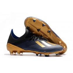 adidas X 19.1 FG Scarpe da Calcio Blu Oro Nero