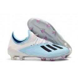 adidas X 19.1 FG Scarpe da Calcio Blu Bianco Nero