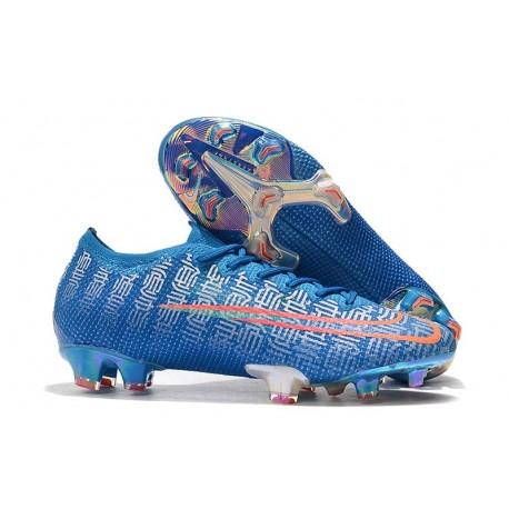 Scarpe da Calcio Nike Mercurial Vapor 13 Elite FG Blu Rosso