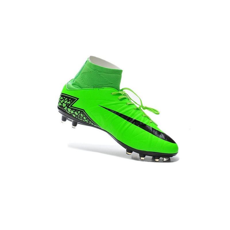 Hypervenom Scarpe Nike Verde FG II da Calcio Phantom Nero 2015 OHqxIw7H
