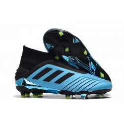 adidas Predator 19 + FG Scarpa - Blu Nero