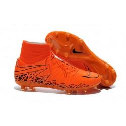 Scarpe Uomo Nike Hypervenom Phantom 2 FG Arancio Nero