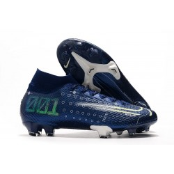 Scarpe Nike Dream Speed Mercurial Superfly VII Elite FG - Blu Bianco