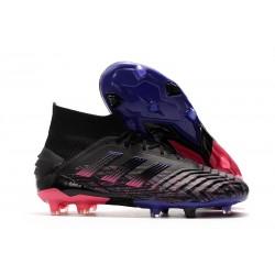 Scarpe da Calcio adidas Predator 19+ FG - Nero Rosa Blu