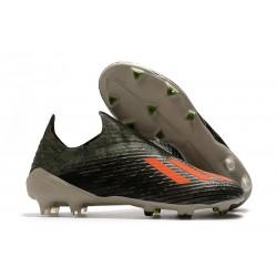 Scarpe da Calcio Adidas X 19+ FG Verde Legacy Arancione Solar Gesso