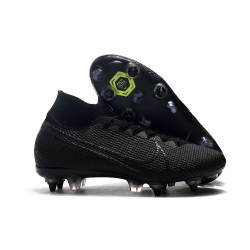 Nike Mercurial Superfly VII Elite SG PRO Anti-Clog Nero