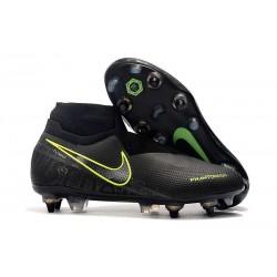 Nike Phantom Vision Elite Dynamic Fit Anti-Clog SG-PRO Nero Volt