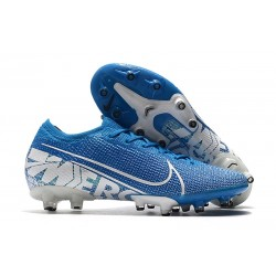 Scarpa Nike Mercurial Vapor XIII Elite AG-PRO New Lights Blu Bianco