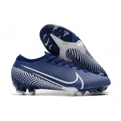 Nike Mercurial Vapor 13 Elite FG ACC Blu Bianco