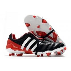 Scarpe da Calcio Adidas Predator Mania FG Nero Bianco Rosso