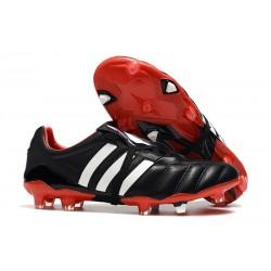 Scarpe da Calcio Adidas Predator Mania FG Nero Rosso Bianco