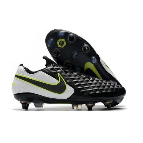 Scarpe da calcio Nike Tiempo Legend VIII Elite ACC SG- Nero Bianco