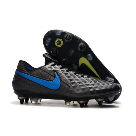 Scarpe da calcio Nike Tiempo Legend VIII Elite ACC SG-Nero Blu
