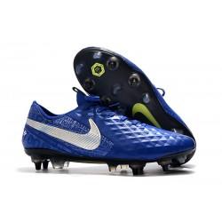 Scarpe da calcio Nike Tiempo Legend VIII Elite ACC SG-Blu Argento