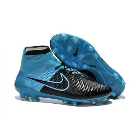 2015 Scarpe da Calcio Nike Magista Obra FG ACC Blu Nero