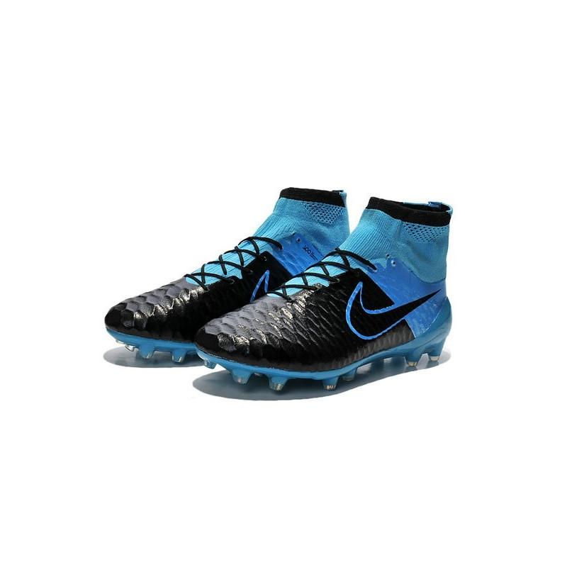 2015 Scarpe da Calcio Nike Magista Obra FG ACC Blu Nero 8833a59bd8b