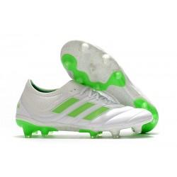 Scarpe da Calcio adidas Copa 19.1 FG -Bianco Verde Signal