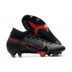 Nike Mercurial Superfly VII Elite DF FG Nero Rosso