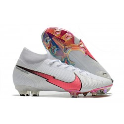 Nike Mercurial Superfly VII Elite DF FG Bianco Cremisi Blu