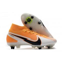 Nike Mercurial Superfly 7 Elite SG PRO AC Arancione Laser Nero Bianco
