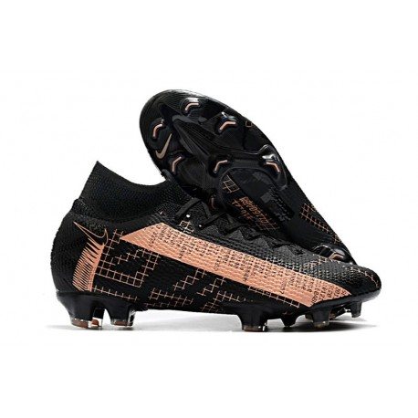Nike Mercurial Superfly VII Elite DF FG Nero Rosa